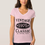 Vintage Classic 1975 T Shirts