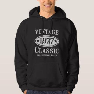 Vintage Classic 1977 Hoodie