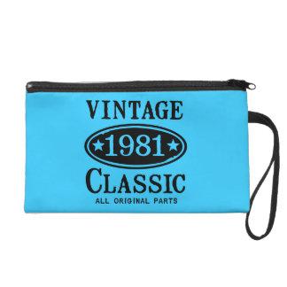 Vintage Classic 1981 Wristlet Clutches