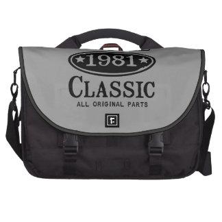 Vintage Classic 1981 Bag For Laptop