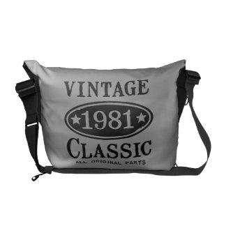 Vintage Classic 1981 Messenger Bags