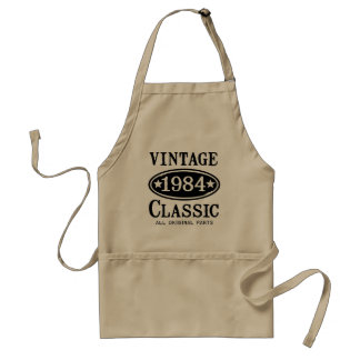 Vintage Classic 1984 gifts Adult Apron