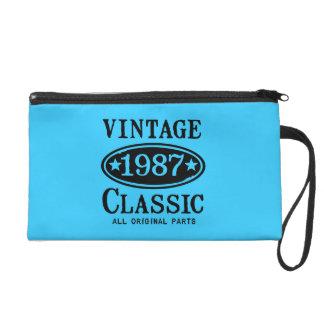 Vintage Classic 1987 Wristlet Purse