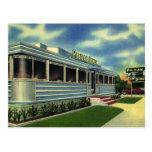 Vintage Classic 50s Retro Restaurant Pelican Diner Post Card