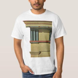 Vintage Classic Architecture, Temple Entablature T-Shirt