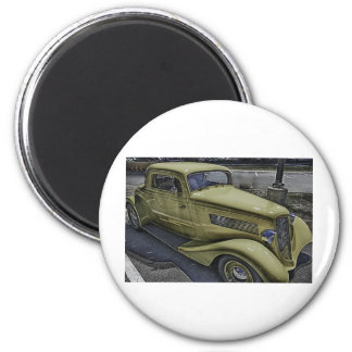 Vintage Classic Car HDR Photo Picture Tshirt Mug + Magnets