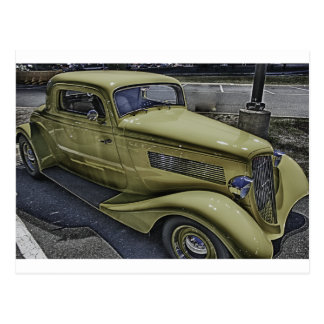 Vintage Classic Car HDR Photo Picture Tshirt Mug + Post Card