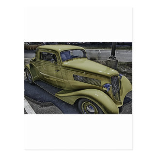 Vintage Classic Car HDR Photo Picture Tshirt Mug + Post Cards