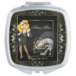 Vintage Classic Gatsby Style Compact Mirrors