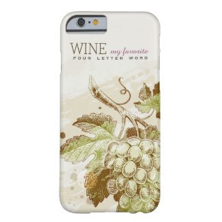 Vintage Classic Grapes Wine iPhone 6 Case