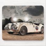 Vintage Classic Jaguar Car Mouse Pad