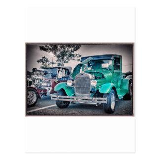 Vintage Classic Pickup Truck Photo Picture T Shirt Postcard