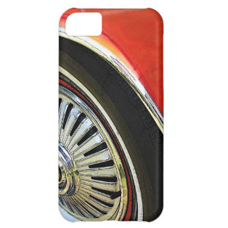 Vintage Classic Red Car abstract - iPhone Case Case For iPhone 5C