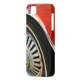 Vintage Classic Red Car abstract - iPhone Case iPhone 5 Cases
