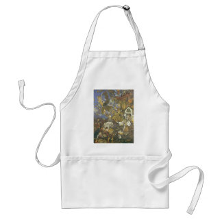 Vintage Classic Storybook Characters, Edmund Dulac Adult Apron