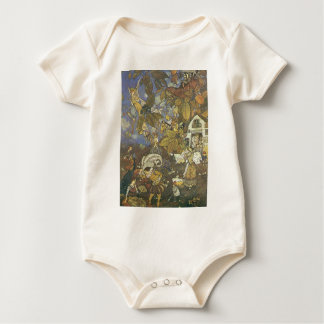 Vintage Classic Storybook Characters, Edmund Dulac Bodysuits
