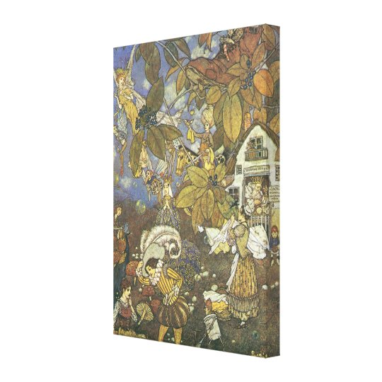 Vintage Classic Storybook Characters, Edmund Dulac Canvas Print