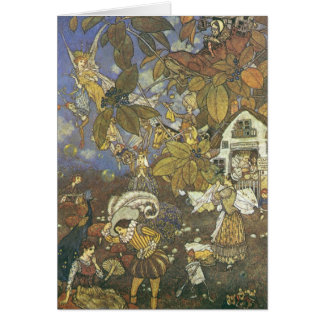 Vintage Classic Storybook Characters, Edmund Dulac Card