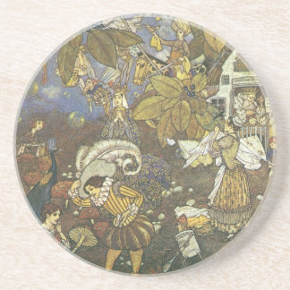 Vintage Classic Storybook Characters, Edmund Dulac Beverage Coaster