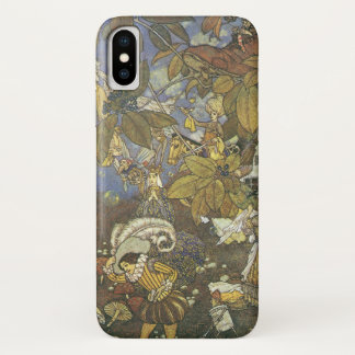 Vintage Classic Storybook Characters, Edmund Dulac iPhone X Case
