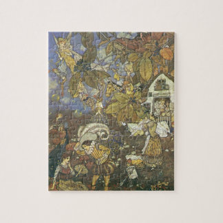 Vintage Classic Storybook Characters, Edmund Dulac Jigsaw Puzzle