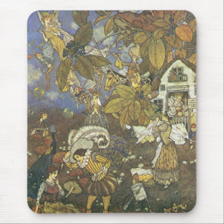 Vintage Classic Storybook Characters, Edmund Dulac Mouse Pad