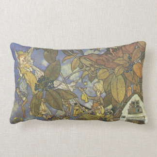 Vintage Classic Storybook Characters, Edmund Dulac Throw Pillows