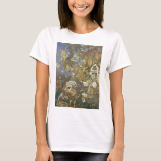 Vintage Classic Storybook Characters, Edmund Dulac T-Shirt