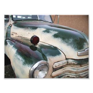 Vintage Classic Truck Art Photo
