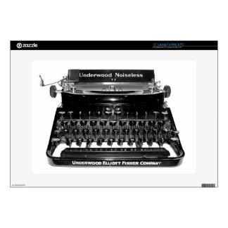 Vintage Classic Typewriter computer laptop skin