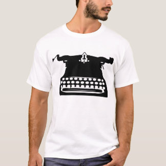 vintage classic typewriter Tshirt Tee