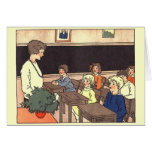 Vintage Classroom Greeting Card