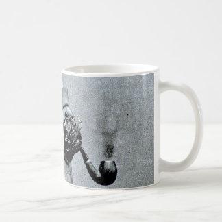 Vintage Classy Pug Photograph Coffee Mug