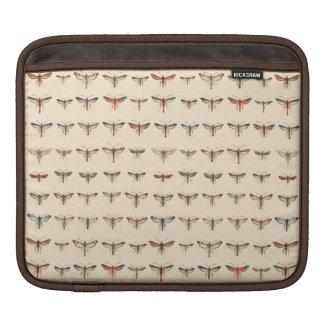 Vintage Clearwing Moths iPad Sleeves