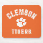 "Vintage Clemson Tigers Mouse Pad<br><div class=""desc"">Check out these new Clemson University designs and products! At Zazzle, you can get all of the best Clemson gear to show off your Tiger Pride. All of these products are customizable with your name, class year, or club. They make perfect gifts for the Clemson student, alumni, family, friend, or...</div>"
