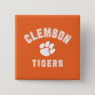 Vintage Clemson Tigers Pinback Button