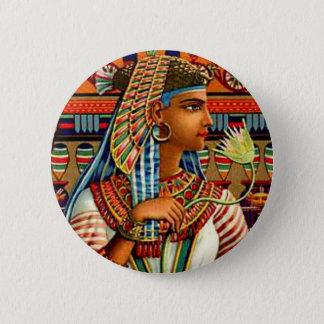 Vintage Cleopatra Egyptian Revival Art Nouveau Button