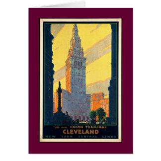 Vintage Cleveland Card