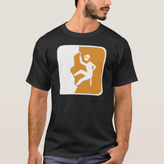 Vintage Climbing Road Sign T-Shirt