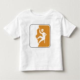 Vintage Climbing Road Sign Toddler T-shirt