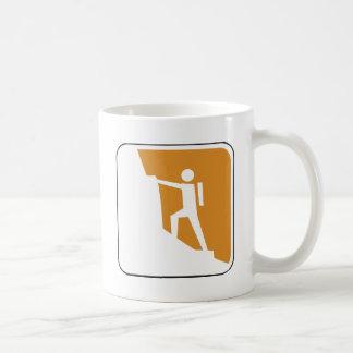 Vintage Climbing Sign Coffee Mug