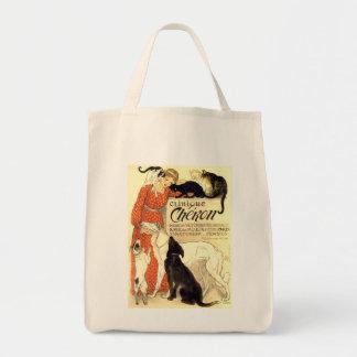 Vintage Clinique Cheron Steinlen Image Tote Bag