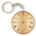 Vintage Clock Antique Pocket Watch keychain