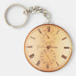Vintage Clock Antique Pocket Watch Keychains