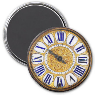 Vintage Clock Antique Pocket Watch Magnet