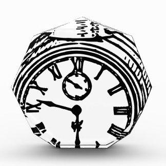 Vintage clock award