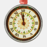 Vintage clock, Countdown to Christmas Ornament