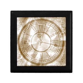 Vintage Clock Gift Box
