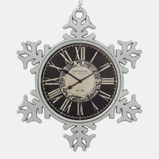 vintage clock ornament