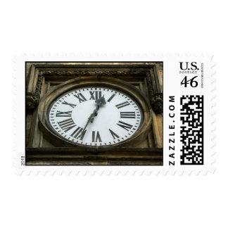 Vintage Clock Stamps